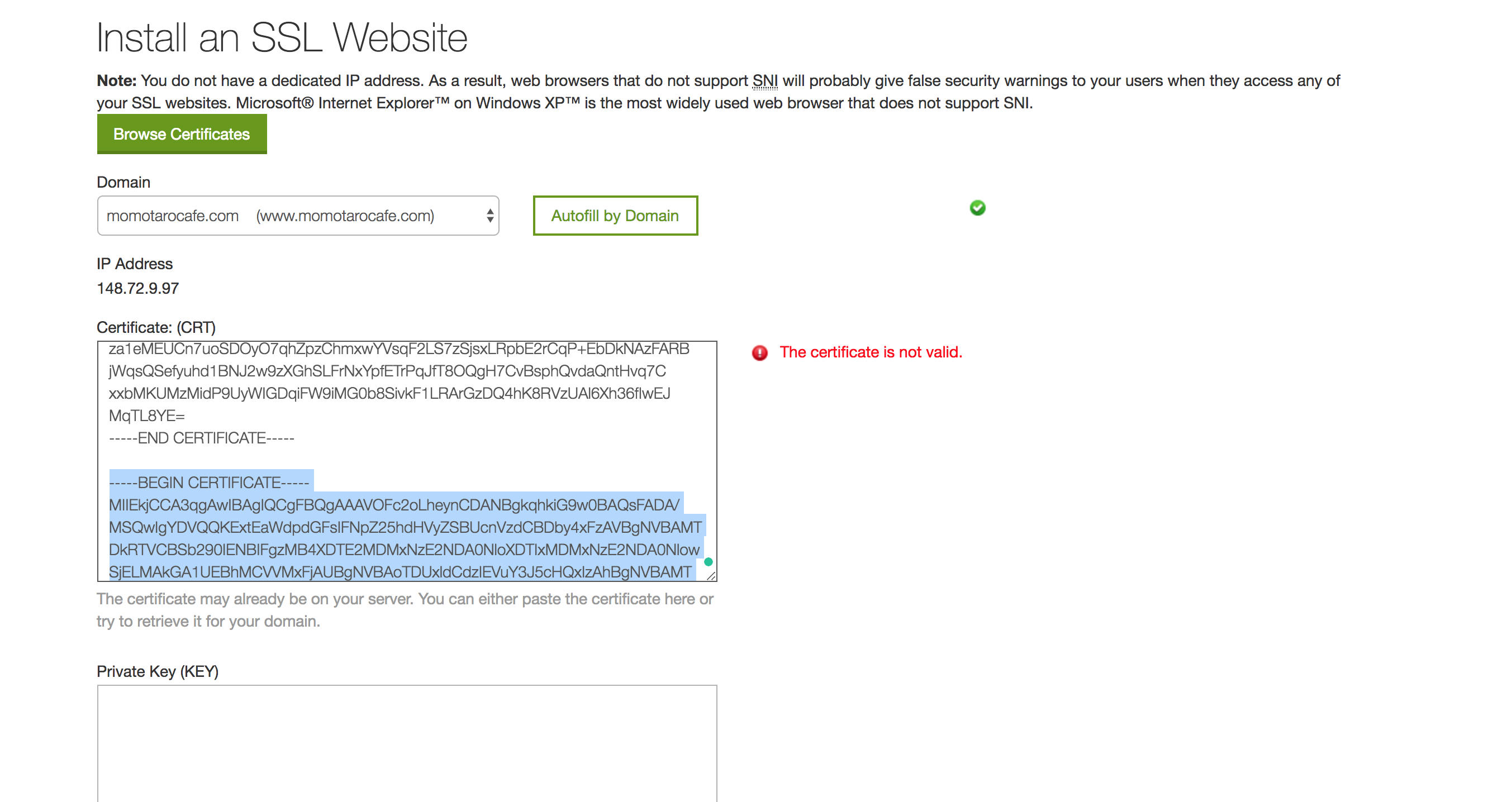 How To Set Up An Ssl Certificate For Free On Godaddy Brand Revive